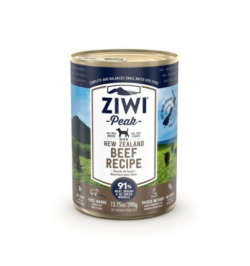 Ziwi Peak Beef Recipe Canned Dog Food 390g, Paws & Claws Pets