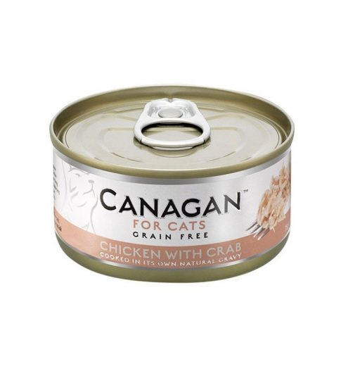 Canagan Chicken with Crab Tin Cat Wet Food, Paws & Claws Pets