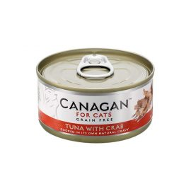 Canagan Tuna with Crab Cat Tin Wet Food at paws & claws pets, the best online petstore at your door