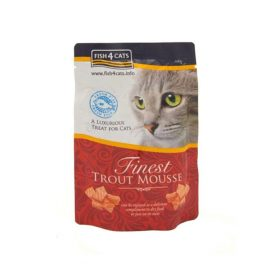 Made with Trout and Seaweed, cat 4 fish available in dubai Paws & CLaws Pets P&C