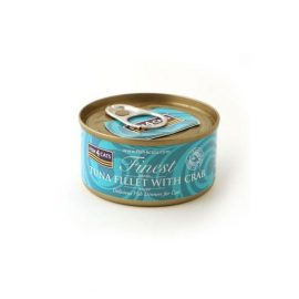 Fish4Cats Tuna Fillet with Crab Wet Food available at paws & Claws Pets