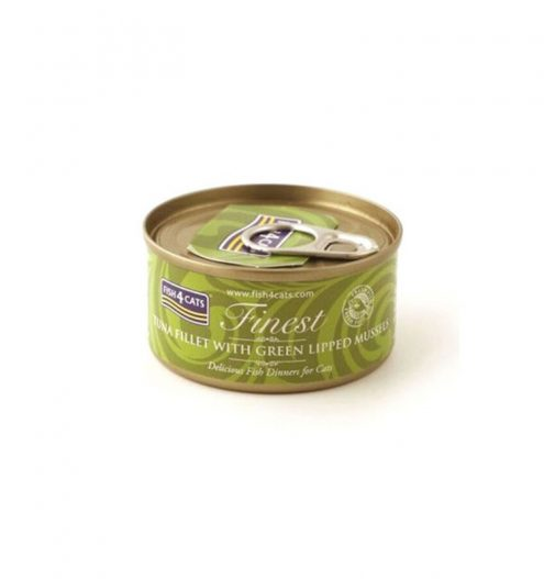 Fish4Cats Tuna Fillet with Mussels Wet Food, Paws & Claws Pets