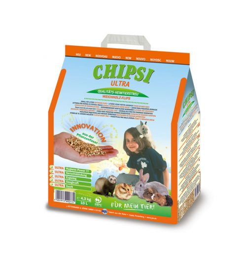 Chipsi Ultra 10L, Paws & Claws Pets