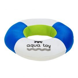 Auqa dog toy puppy paddler is a floating ring designed for water use