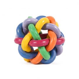 Ball of Knots Dog Toy is a funky rubber dog toy