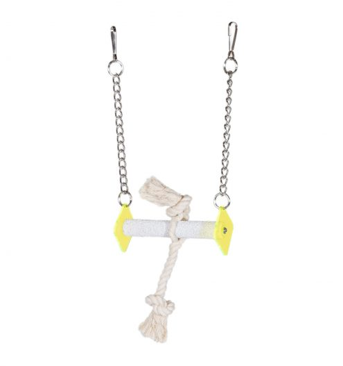 Polygon Bird Swing with Rope, Paws & Claws Pets