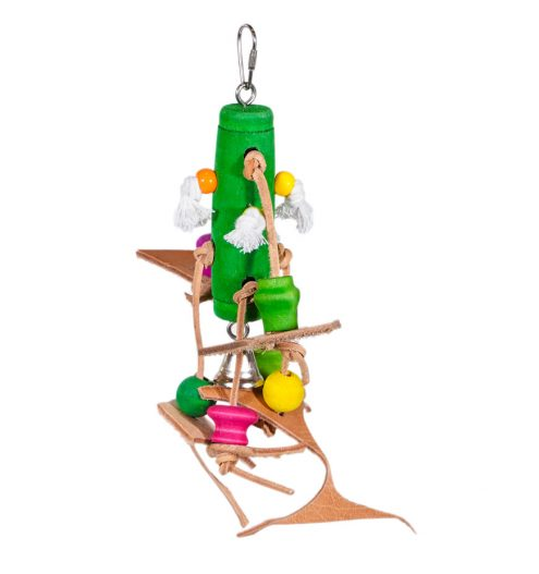 Bits 'n' Bobbles Hanging Bird Toy, Paws & Claws Pets
