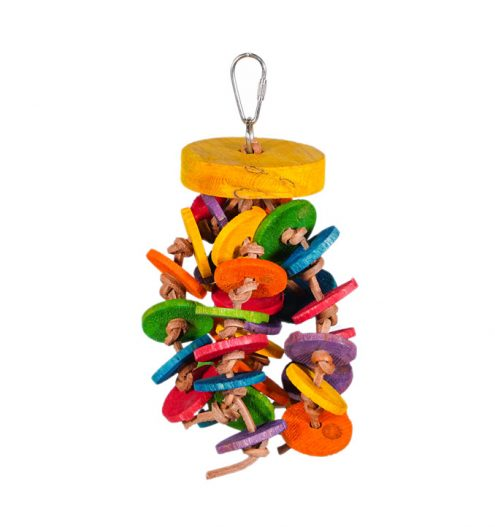 Buttons 'n' Bobbles Hanging Toy will provide them with physical and mental stimulation