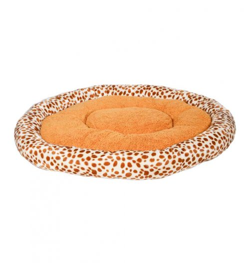 Fluffy Pet Bed – Animal Print, Paws & Claws Pets