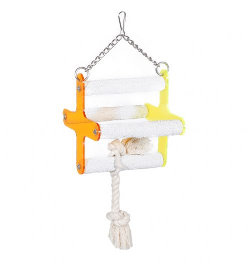 Four Perch bird swing, Paws & Claws Pets