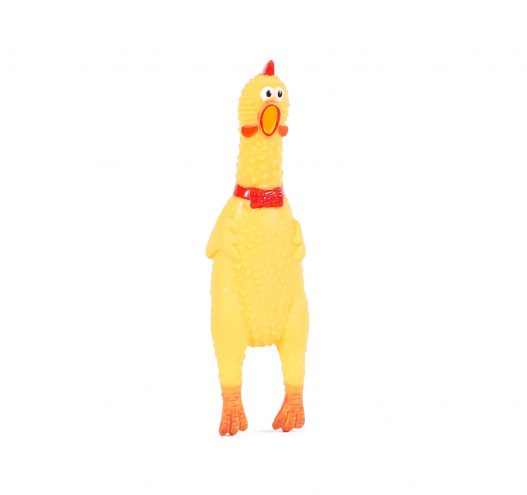 Shrilling Rubber Chicken, Paws & Claws Pets