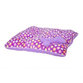 Fluffy Purple Princess Pet Bed is a plush pet bed providing a luxurious place for your pet to rest