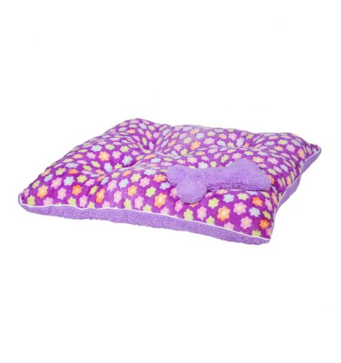 Fluffy Purple Princess Pet Bed, Paws & Claws Pets