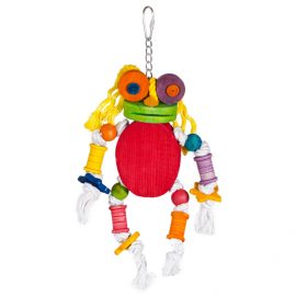 Hanging Bird Toy Alpha to keep your feathered friend happy and healthy providing them with physical and mental stimulation