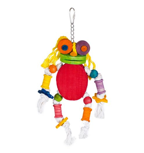 Hanging Bird Toy Alpha, Paws & Claws Pets