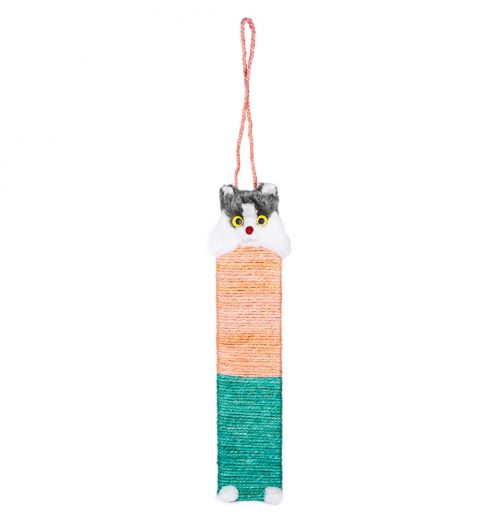 Hanging Cat Scratch Post, Paws & Claws Pets