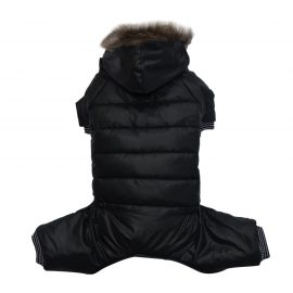 Puppy Parka Dog Outfit is a dog jacket for colder climates and splash roof keeping them dry
