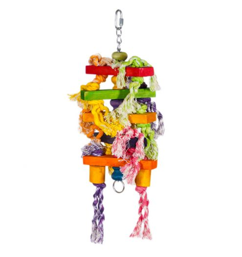 Hanging Bird Toys Bits 'n' Blocks, Paws & Claws Pets