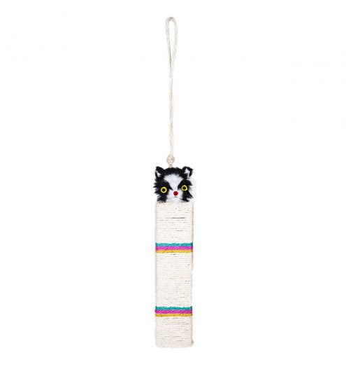 Hanging Kitty Scratch Post, Paws & Claws Pets