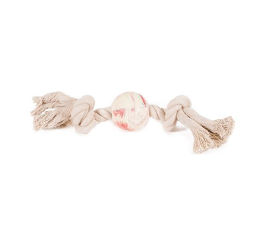 Natural Dog Dental Toy is a natural colored and non-toxic toy helps to promote dental health