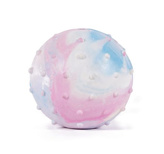Pastel Textured Rubber Ball, Paws & Claws Pets