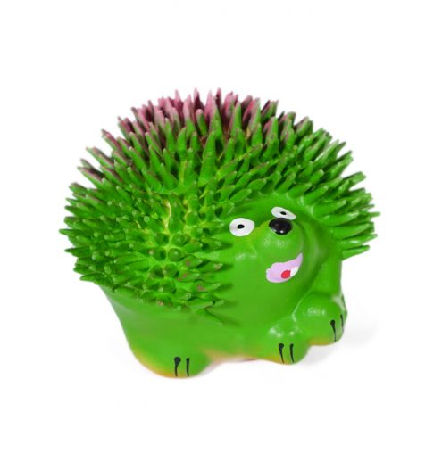 Squeaky Hedgehog Dog Toy, Paws & Claws Pets