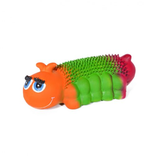 Traffic Light Caterpillar Dog Toy, Paws & Claws Pets