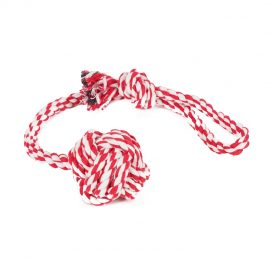 Tug of War Dog Toy will provide a grip for you to hold as your dog pulls at it!
